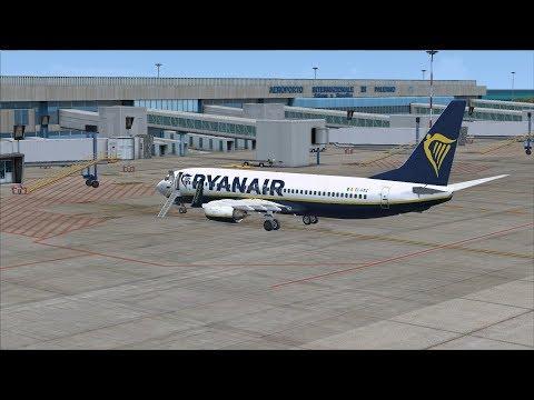 FSX SE VRyanair PMDG 737 NGX | Route: Prague LKPR - Eindhoven EHEH - Prague LKPR