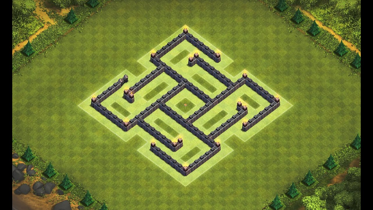 Base Coc Th 6 Labirin 5