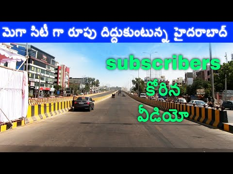 Finished and upcoming projects in #hyderabad │ #GHMC makes full use of #lockdown │ Fly overs
