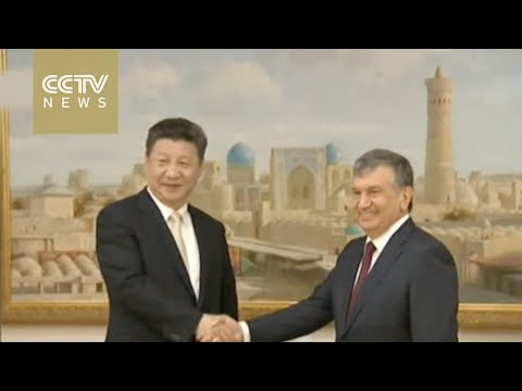President Xi arrives in Uzbekistan for state visit