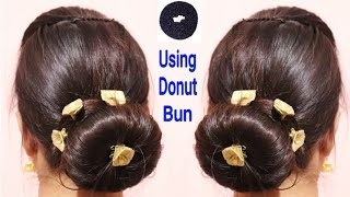 classic donut bun juda in hindi donut bun traditional indian juda hairstylealwaysprettyuseful