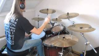 Finntroll - Skogsdotter + Fanskapsfylld (partly) (Drum Cover)