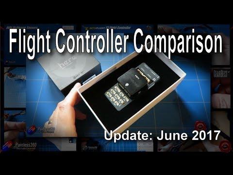 R/C Flight Controller/Software Comparison - June 2017