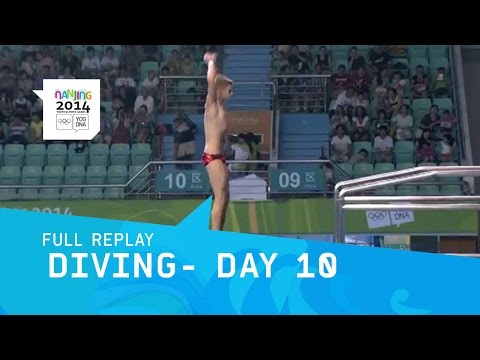 Diving-  Men's 10m Platform Preliminary | Full Replay | Nanjing 2014 Youth Olympic Games