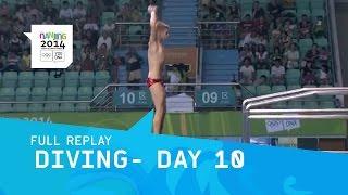 Diving-  Men's 10m Platform Preliminary | Full Replay | Nanjing 2014 Youth Olympic Games