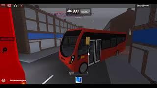 Roblox Croydon Borough Simulator Streetlite Demonstrator (euro 6) Abellio London Route 130
