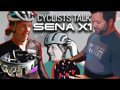 Cyclists Talk: Sena X1 Helmet