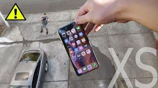 iPHONE XS против iPHONE X !