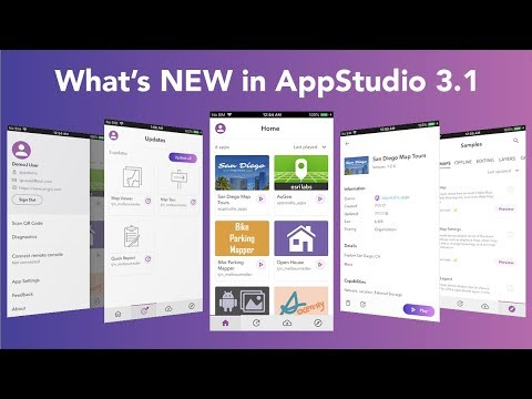 What's New in AppStudio 3 1 (September, 2018)