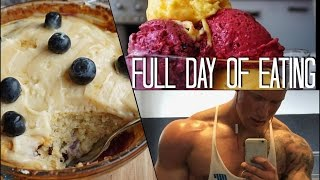 Als ob er damit abnimmt... - Full Day of Eating