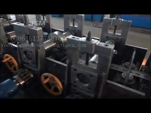 Strut channel of 41x21 and 41x41  rolling forming machine for Dubai Market