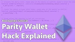 Parity Wallet Hack Explained