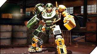 РЕАЛЬНАЯ БИТВА РОБОТОВ -  Игра Real Steel World Robot Boxing прохождение # 1 Живая сталь игра.