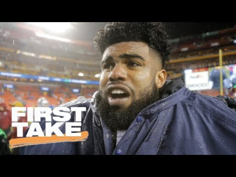 Ezekiel Elliott granted administrative stay, eligible to play vs. Chiefs | First Take | ESPN