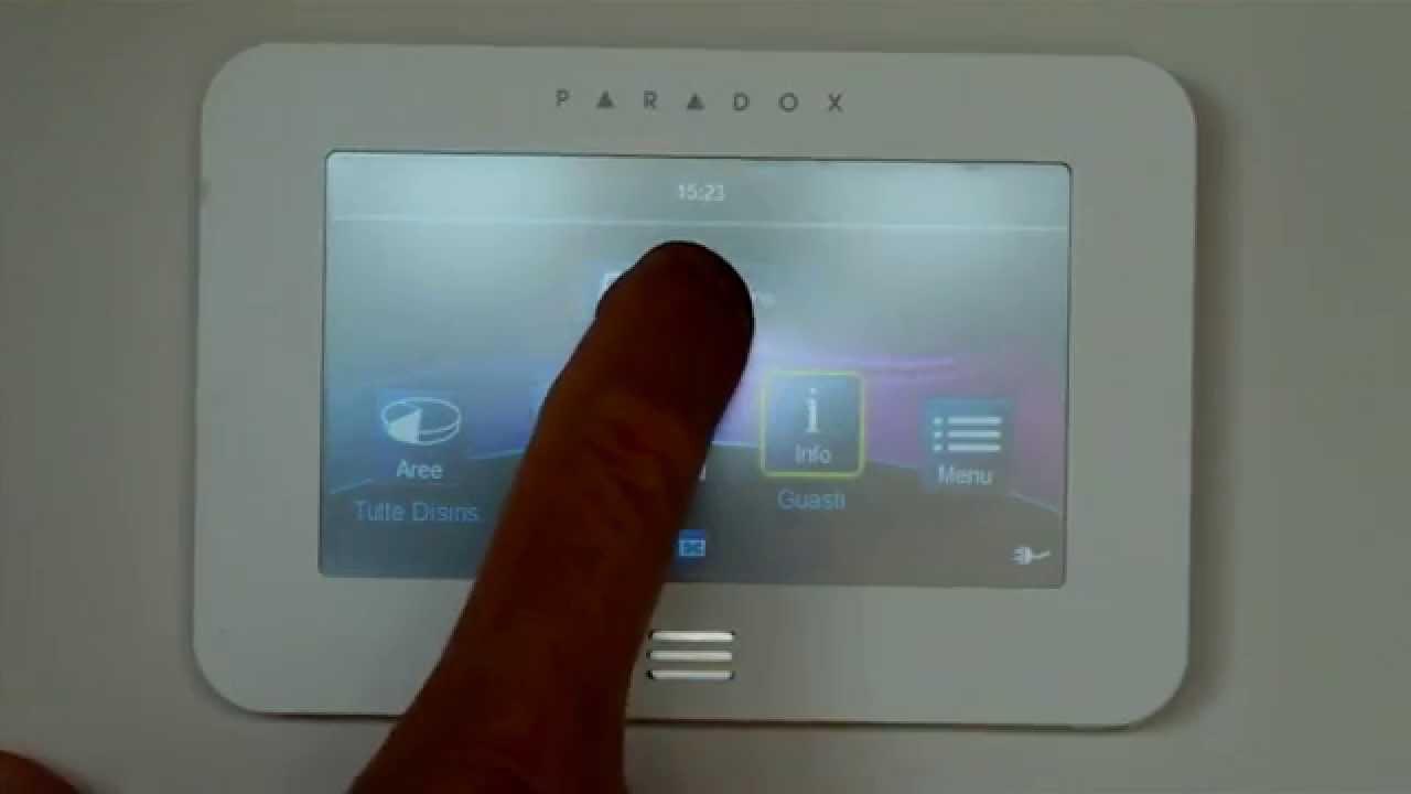 MASTER elettronica tastiera touch, installazione antifurto, wireless, via radio, video ...