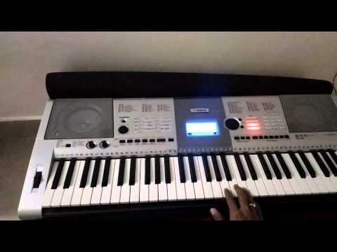 Rang he nave nave instrumental by Sachin Mali on Yamaha PSR-i425
