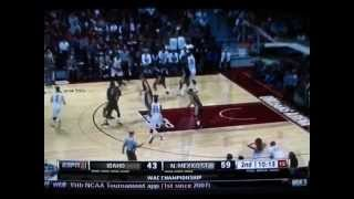 2014 WAC CONFERENCE & IDAHO vs NEW MEXICO STATE w/ SIM BHULLAR BIGGEST BADDEST CENTER