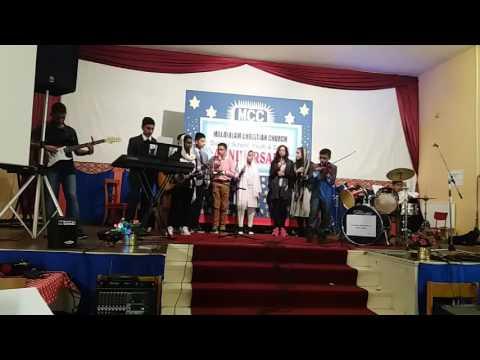 best songs /malayalam christian church MANCHESTER  sunday school youth sisters annivarsary 2017