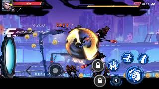 Cyber Fighters League of Cyberpunk Stickman 2077 | Kill The Boss | Stage 1 Gameplay #2 screenshot 5