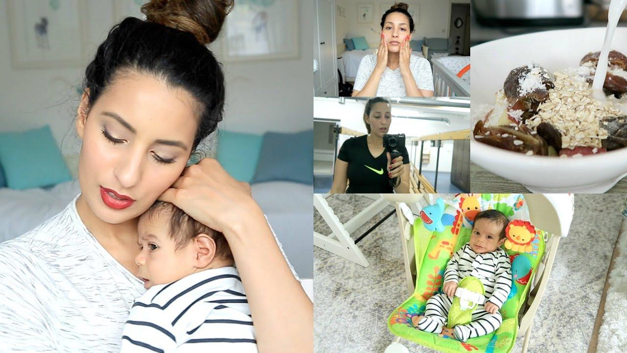 YouTube-Star Dounia Slimani über ihre Morgen-Routine mit Baby