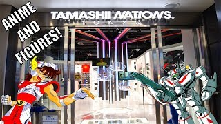 Looking around in the new Tamashii Nations in Akihabara. So many cool anime figures on display it makes my head spin! Check out KidShoryuken on other ...