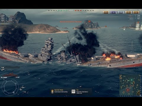 World of Warships Blitz: Enemy fleet annihilation