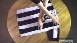 Cách gấp quần áo sơ mi siêu tốc - Cach gap quan ao sieu toc [facebook.com/kokoshopvn]