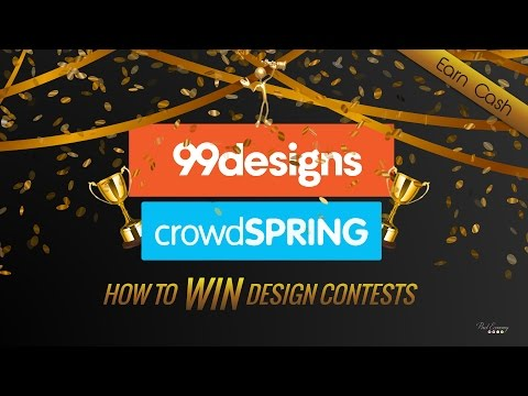How To Win Design Contests On 99desings, Crowdspring, etc