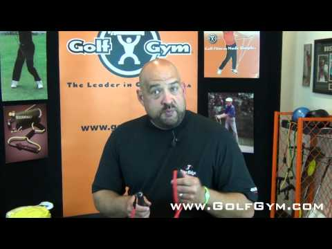 Golf Fitness: Using the Golf Gym Power Swing Trainer – Arlen Bento, Jr