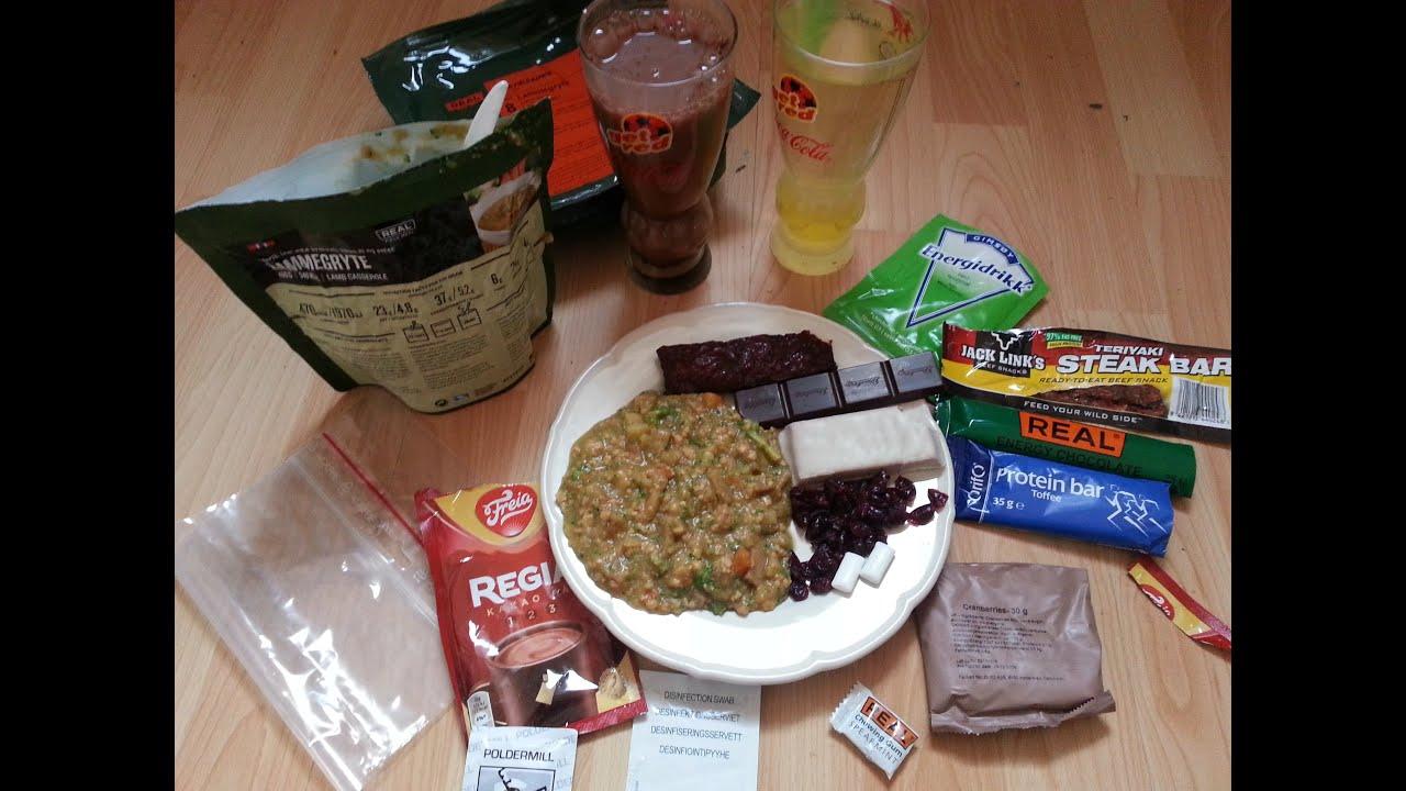how to make mre meals