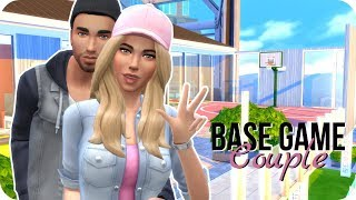 Sims 4 Create A Sim | Fitness Couple | Base Game Only Challenge!
