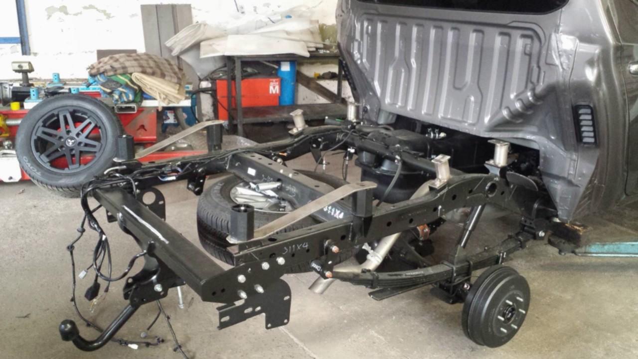 Mitsubishi L200 Einbau Bodylift