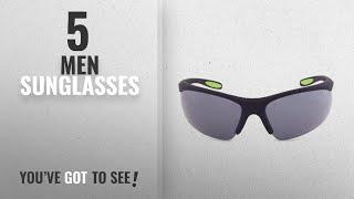Fila Sunglasses [ Winter 2018 ]: Fila Sport F1060 Wrap Sunglasses, Rubberized Black
