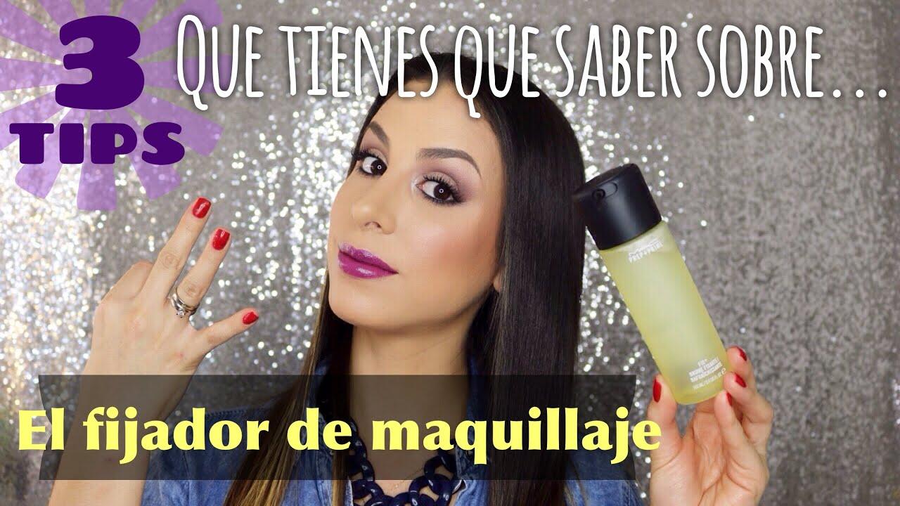 Download ★ 3 TIPS QUE TIENES QUE SABER SOBRE: El fijador de maquillaje! ★  Quick-Tutorial
