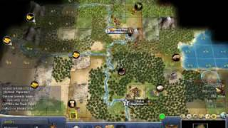Civilization IV Strategy Walkthrough 100 Turns Segment 3 - Video 1