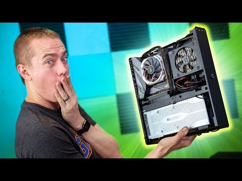 9900K + 2080 Ti in A Console! - Tested!