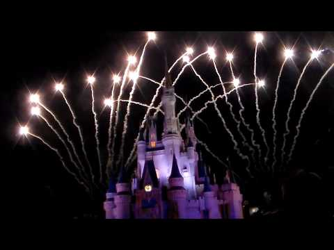 Wishes Fireworks at WDW