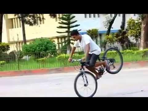 BANGLADESH BOYS CYCLE STUNTS