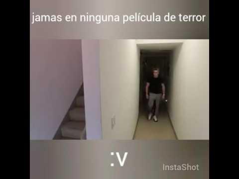 Jamás en ninguna película de terror