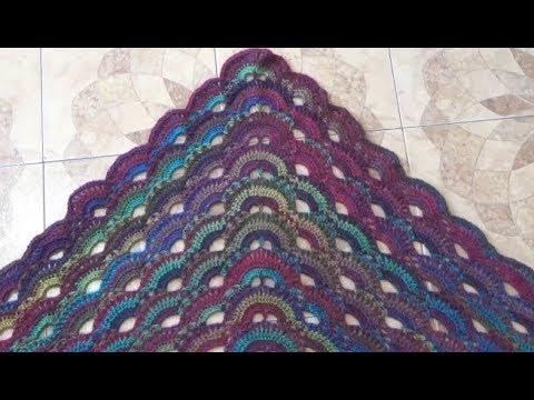 Chal o Palestina Puntada en Triangulo a Crochet - YouTube