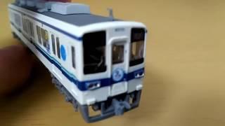[Nゲージ加工動画] 鉄コレ東武8000系亀戸線をラッピング仕様に