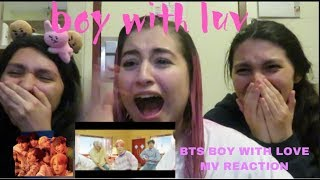 {REACTION} BTS (방탄소년단) \'작은 것들을 위한 시 (Boy With Luv) feat. Halsey\' Official MV