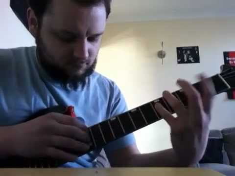Guitar tapping riff ideas