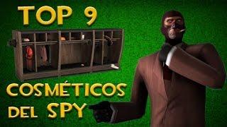 TF2 - Top 9 Cosméticos del Spy