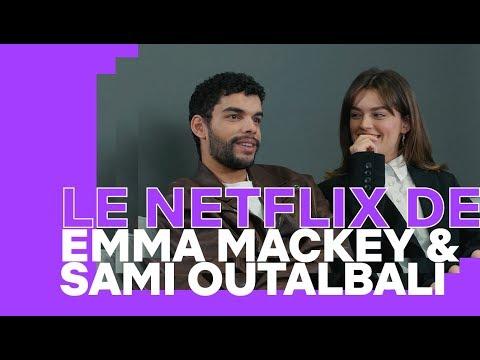 Le Netflix de... Emma Mackey et Sami Outalbali   Netflix France