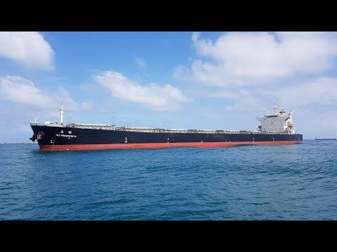 Panama Canal - MV Tai Prosperity Transiting