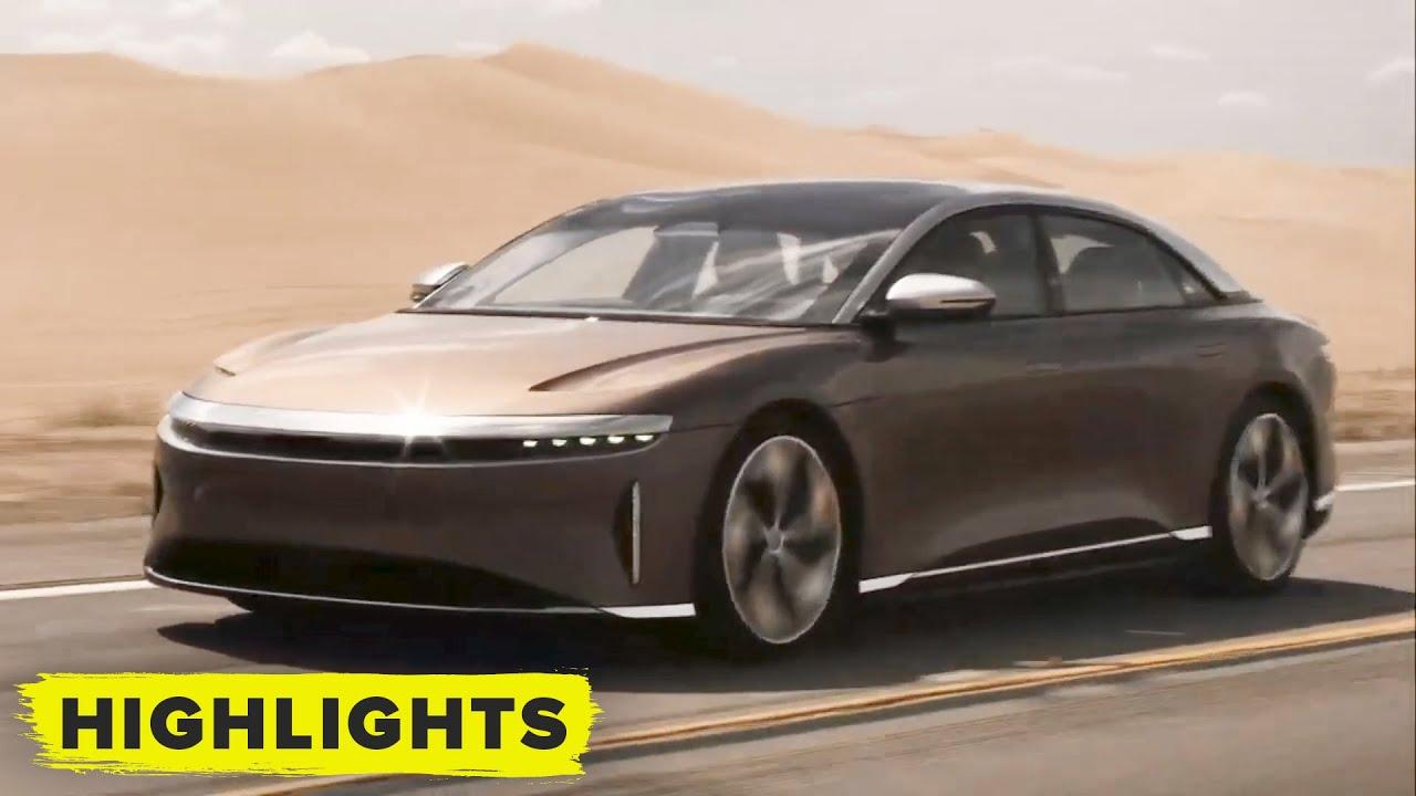 Preview: Luxurious Lucid Air Electric Sedan Boasts 500-Mile Range