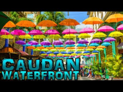 Caudan Waterfront Port-Louis Mauritius 4K