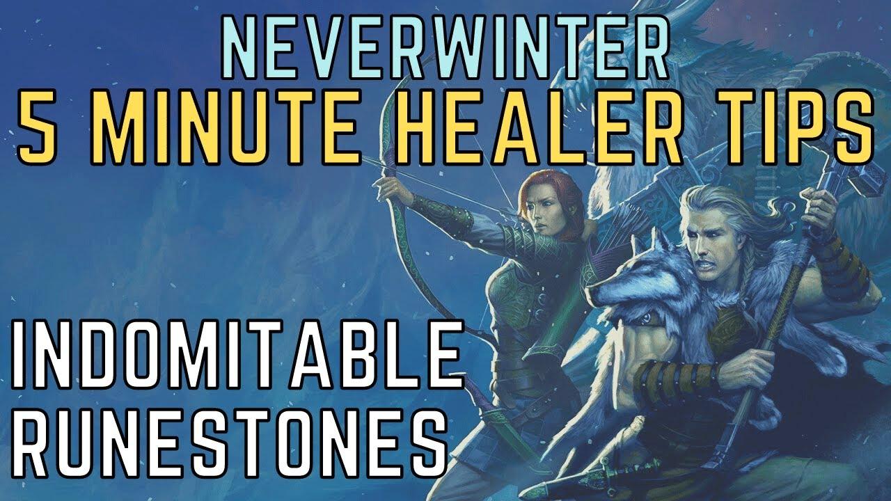 Download Neverwinter 5 Minute Healer Tip - Do Healing Companions Heal More With Indomitable Runestones?
