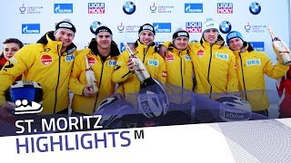 Walther-Poser put on a show in St. Moritz | IBSF Official